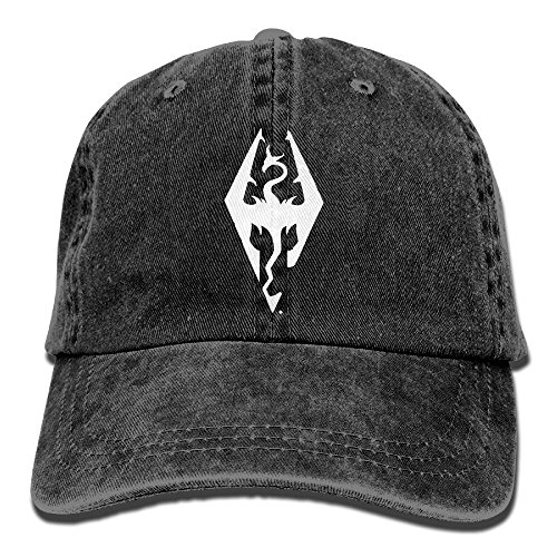 SDQQ6 Imperial Dragon Symbol Adult Cowboy Hat Baseball Cap Adjustable Athletic Printed Best Hat for Men and Women ()