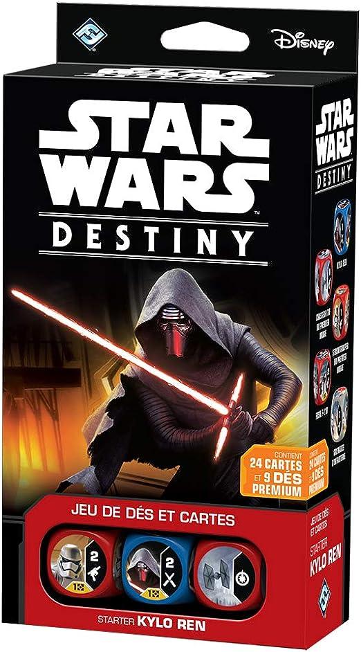 Fantasy Flight Games Star Wars - Caja de Inicio: Kylo REN Destiny, Juego de Mesa (Edge Entertainment EDGSWD01): Amazon.es: Juguetes y juegos