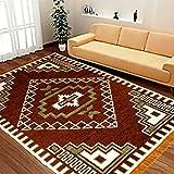 Reliable Trends Velvet Touch Chenille Carpet for Living Room Dining hall Floor (Maroon)