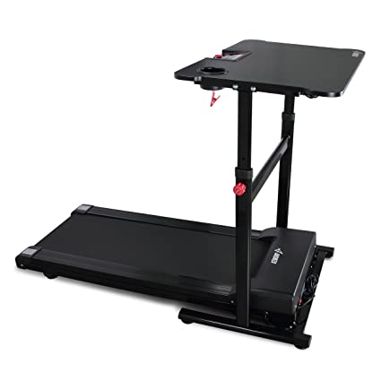 Akonza Electric Standing Walking Treadmill Desk Workstation W/Tabletop  Adjustable Height For Home U0026 Office