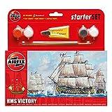 Airfix A55104 starter kit HMS Victory Classic Ship Gift Set