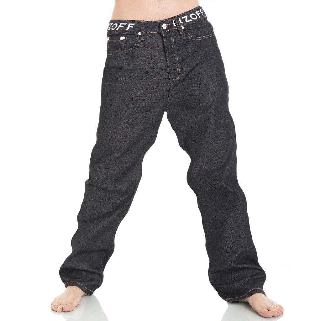 Pizoff Herren Herren Herren Hip Hop Hipster Rap Style Baggy Jeans in mittelblauer Waschung B01A3W41JA Jeanshosen Professionelles Design ad20d8