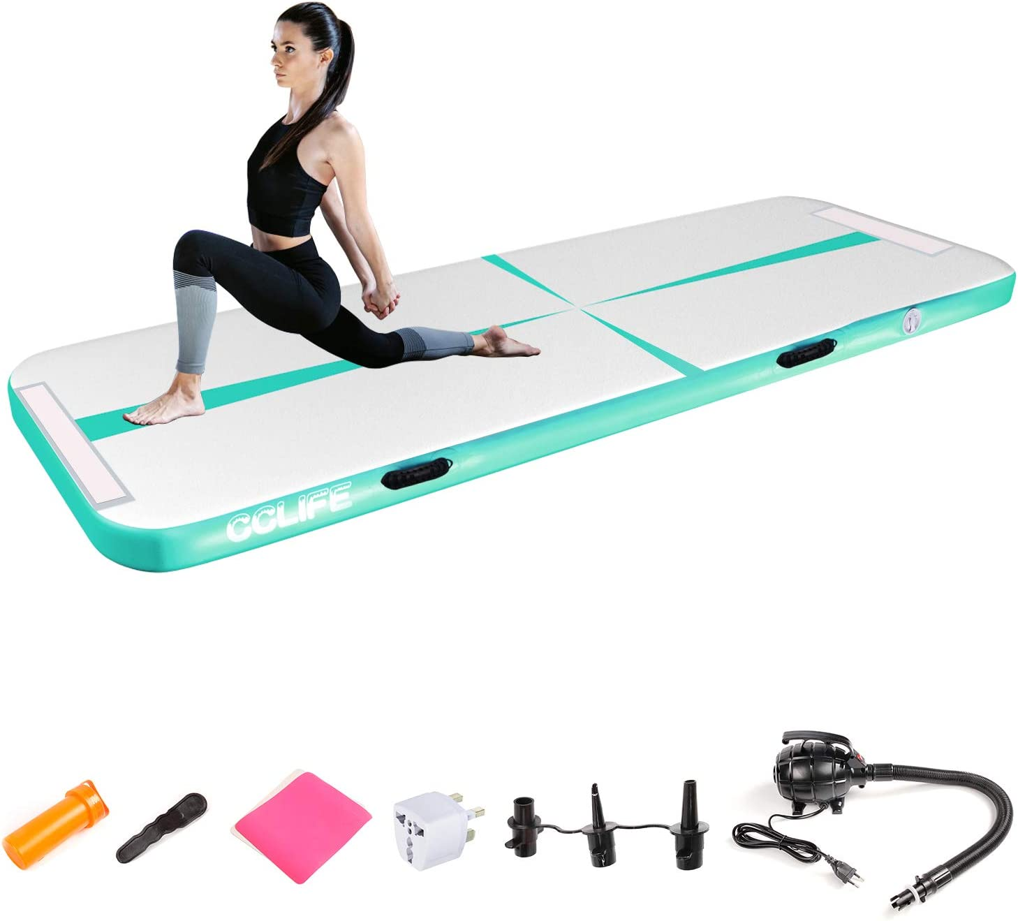 CNSPORT Aufblasbare Air Track gymnastikmatte Yogamatte Camping Trainingsmatte