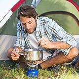Orblue 4-in-1 Camping Utensils, 2-Pack, Black