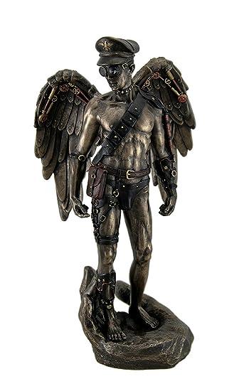 Justitia Göttin der Gerechtigkeit Große Engel Figur Statue Fantasy
