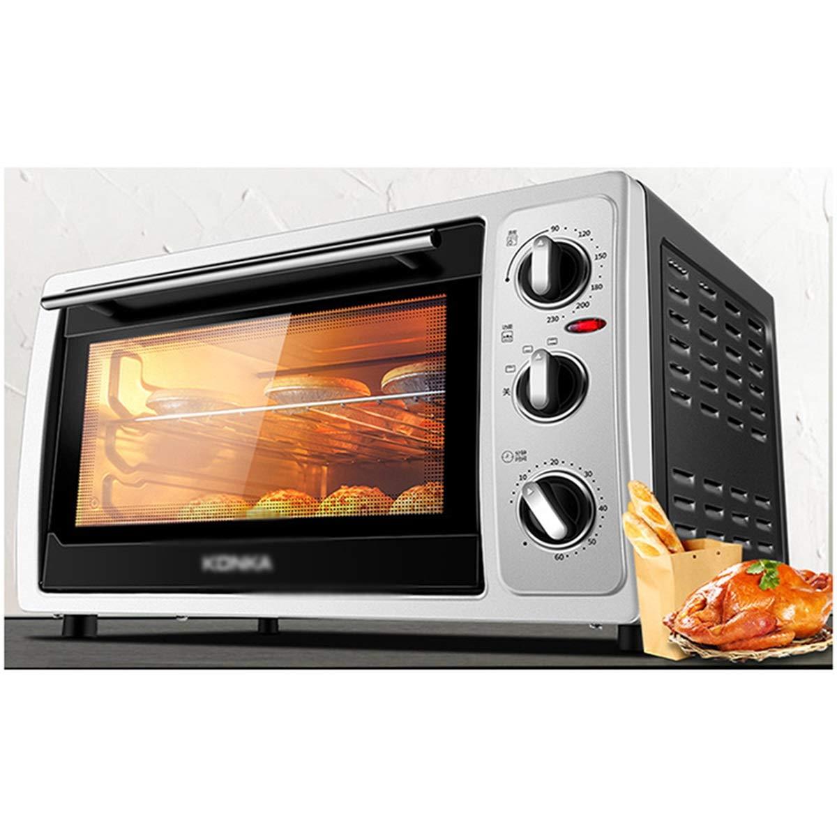 NZNB ミニオーブン - 電気オーブン家庭用多機能オーブンフルオート30 Lインチタッチノブミニオーブン - オーブントースター   B07R469LW8