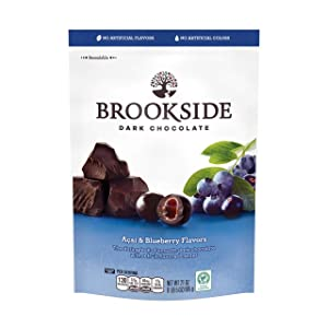 BROOKSIDE Dark Chocolate Candy , Acai & Blueberry, 21 Ounce Bag