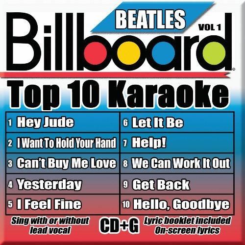 Billboard Karaoke - Billboard Beatles Top 10 Karaoke Vol 1 [10+10-song CD+G]