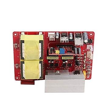 Ultrasónico Limpieza Máquina controlador Junta por ultrasonidos de ultrasonidos Generador placa de circuito 220 V: Amazon.es: Bricolaje y herramientas