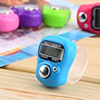 ASTROGHAR Mini Hand  Tally  Counter Finger  Ring Digital Electronic Head Count,Japa Counter