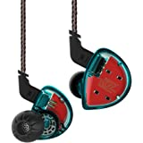 in Ear Monitor Headphones,Yinyoo KZ ES4 in Ear Earphones High Fidelity Noise Cancelling Earbuds Wired Over Ear Stereo…