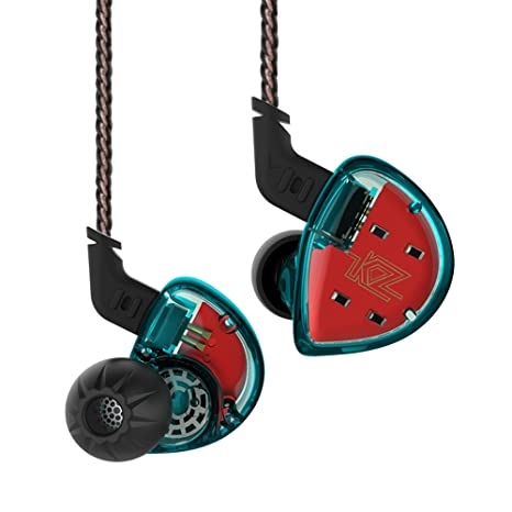KZ ES4 Auriculares Dual Drivers Auriculares intrauditivos Auriculares Kiny Auriculares estéreo de alta fidelidad Kiny Auriculares