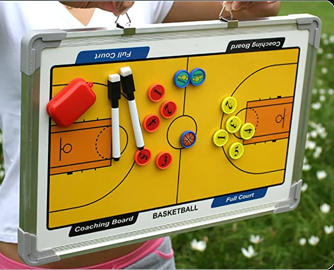 Amazon.com: wrzbest Basketball Coaching Board Coach Tactic ...
