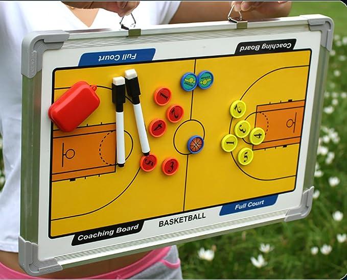 Amazon.com: wrzbest Basketball Coaching Board Coach Tactic ...