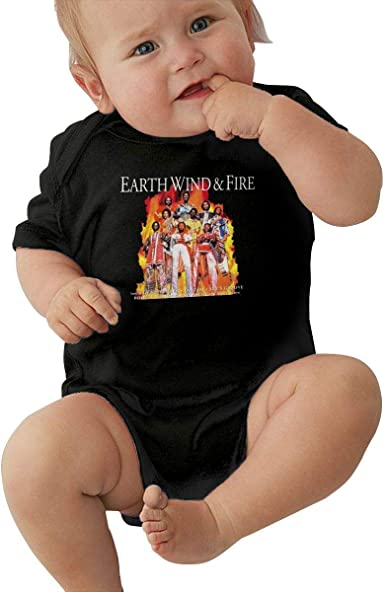 Baby Earth-Wind Fire Tour Short Sleeve Shirt Toddler Tee