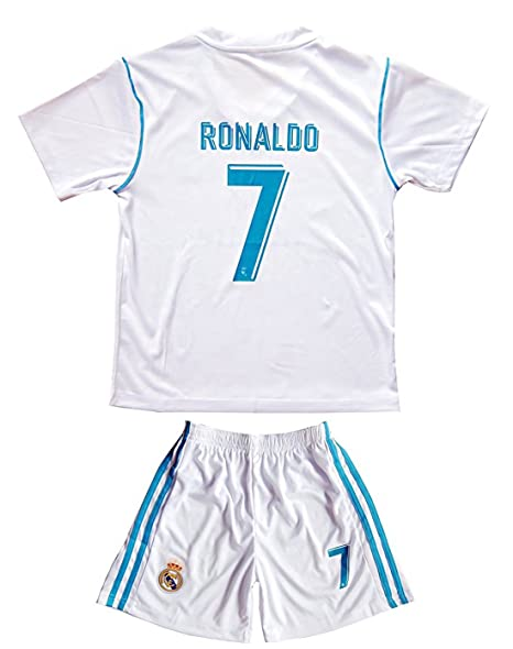 f6bc20993c4 Amazon.com  kaerok 17 18 New Season Real Madrid 7 Ronaldo Kids ...