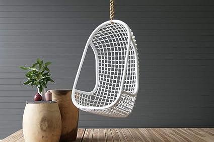 IRA Hanging Chair – White