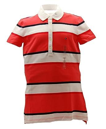 b1498437d9f TOMMY HILFIGER-Polo Femme  Amazon.fr  Vêtements et accessoires
