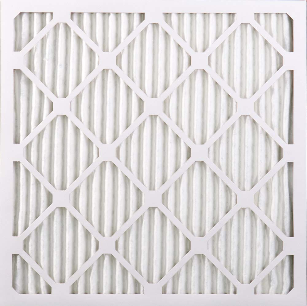 2 Piece 25x25x1M10-2 Nordic Pure 25x25x1 MERV 10 Pleated AC Furnace Air Filters