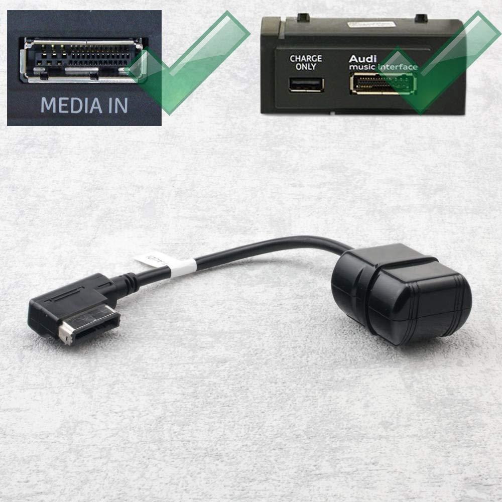 Bluetooth Adapter Kabel fü r Audi A5 A6 A7 A8 mit MMi 3G und AMI | VW mit MDI | Skoda mit Navigation Columbus SAXOBUY