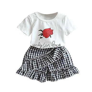 eae24cc1fb2e Viahwyt Girls Clothing Sets