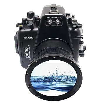 Amazon.com: Meikon 60 M/195ft la carcasa submarina Carcasa ...