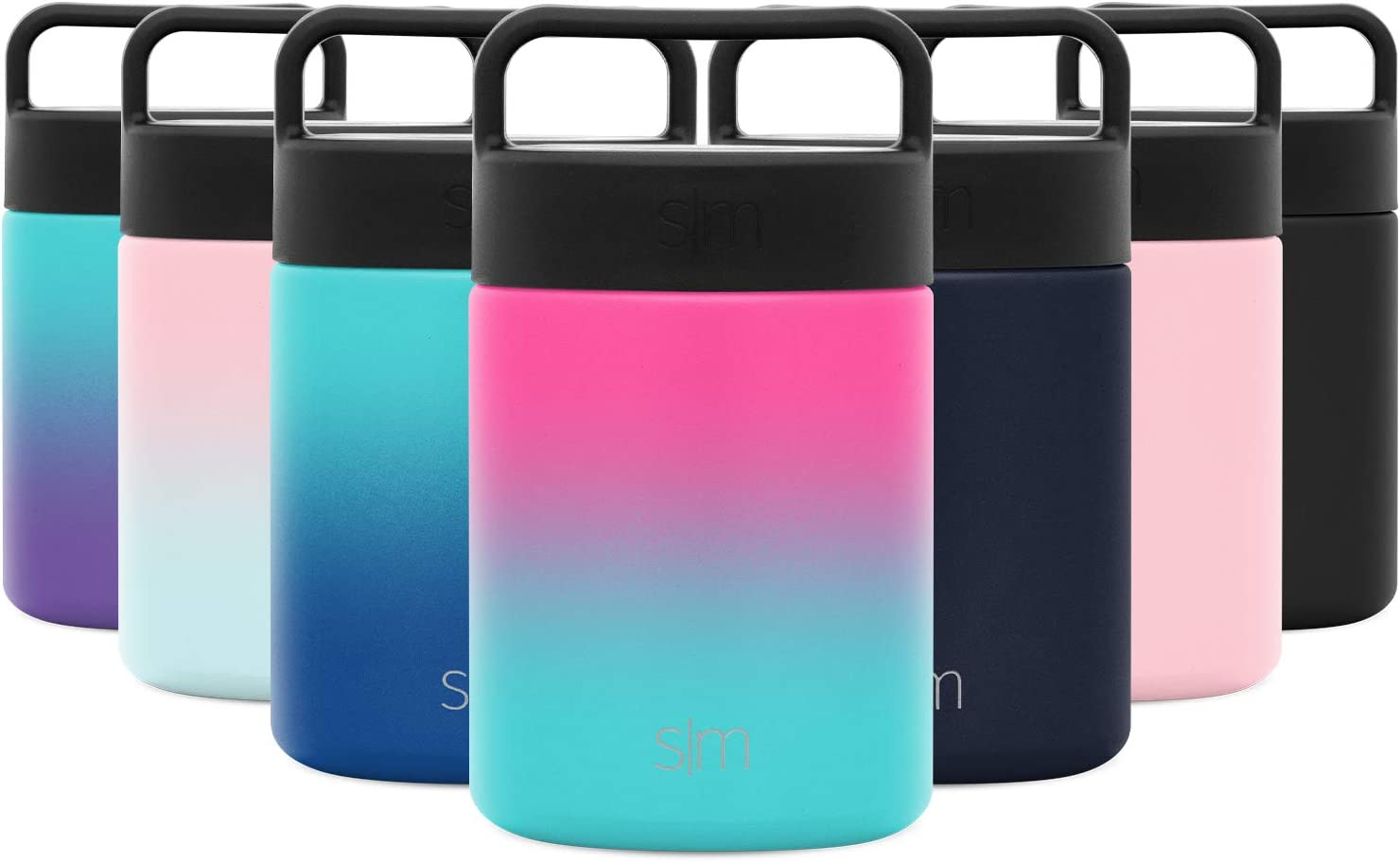 Simple Modern Provision Insulated Food Jar Thermos Leak Proof Stainless Steel Storage Lunch Container, 12oz with Handle Lid, Ombre: Sorbet