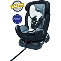 R for Rabbit Jack N Jill Grand - The Innovative Convertible Car Seat (from 0-7 Years) (Black Multicolor)