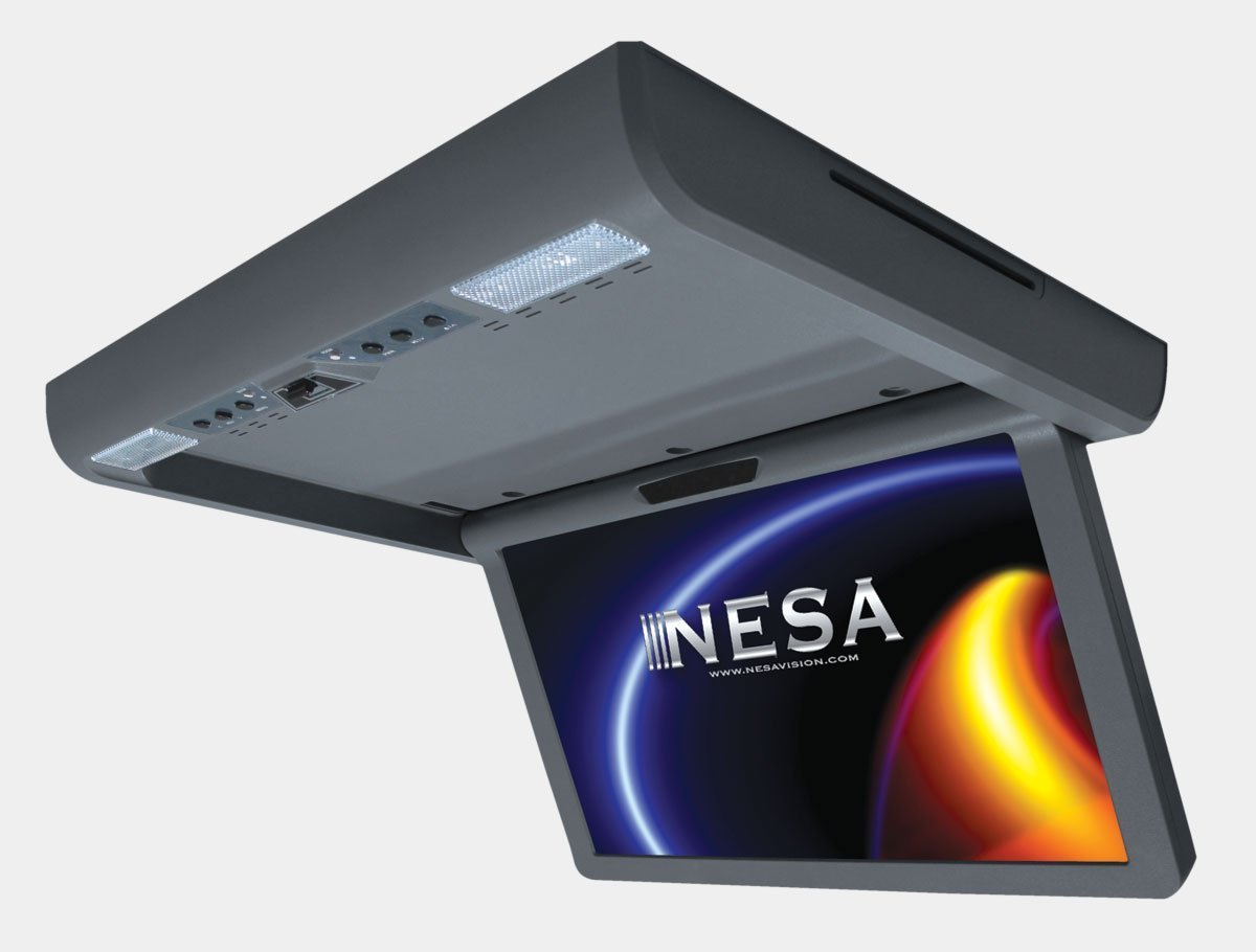 NESA NSCM156DMD 15.6-Inch Wide Ceiling Mount Monitor with Built-In HDMI/USB/MHL [並行輸入品] B01HLZ5MHM