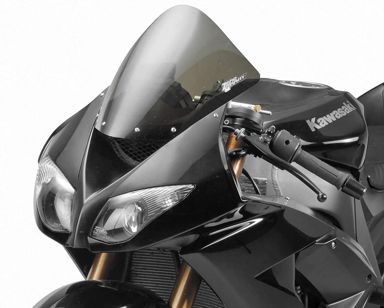 Zero Gravity Corsa Windscreen for 2007-2008 Kawasaki ZX-6R, 2008-2010 ZX-10R