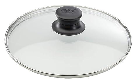 Elo 64133 - Tapa de cristal para ollas (32 cm, acero inoxidable)