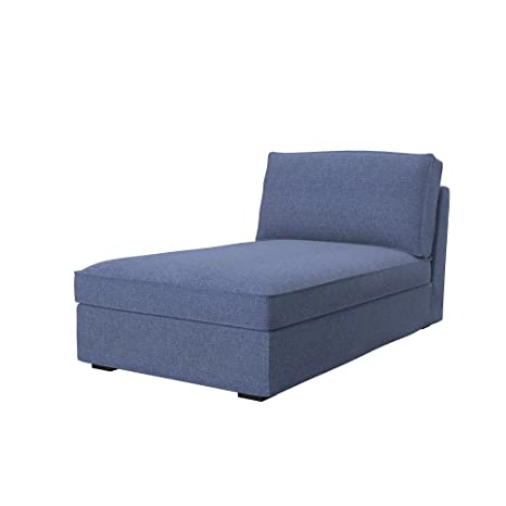Soferia - IKEA KIVIK Funda para chaiselongue, Naturel Blue ...