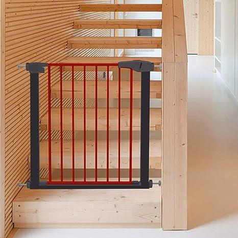 Baby Safety Parque infantil Puerta de seguridad para niños Barrera infantil Puerta Puerta Puertas para escaleras Puerta para bebés con puerta para mascotas Puerta de bebé retráctil Extensión: Amazon.es: Bebé