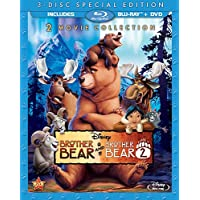 Brother Bear / Brother Bear 2 (3-Disc Special Edition) [Blu-ray / DVD] [Importado]