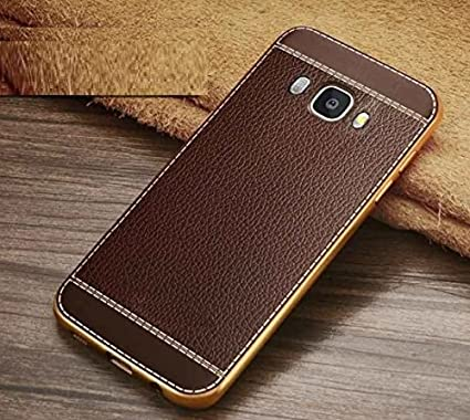 detailed look e44ac 9eb5d Loxxo Back Cover for Samsung Galaxy J7 Nxt Leather Case: Amazon.in ...