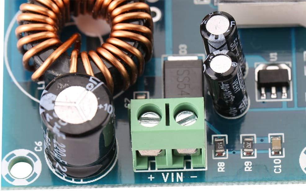 Akozon Boost Convertisseur Module XH-M411 DC Convertisseur Num/érique Up Boost Conseil 3-35V /à 5V-45V 5A Bricolage Module Dalimentation