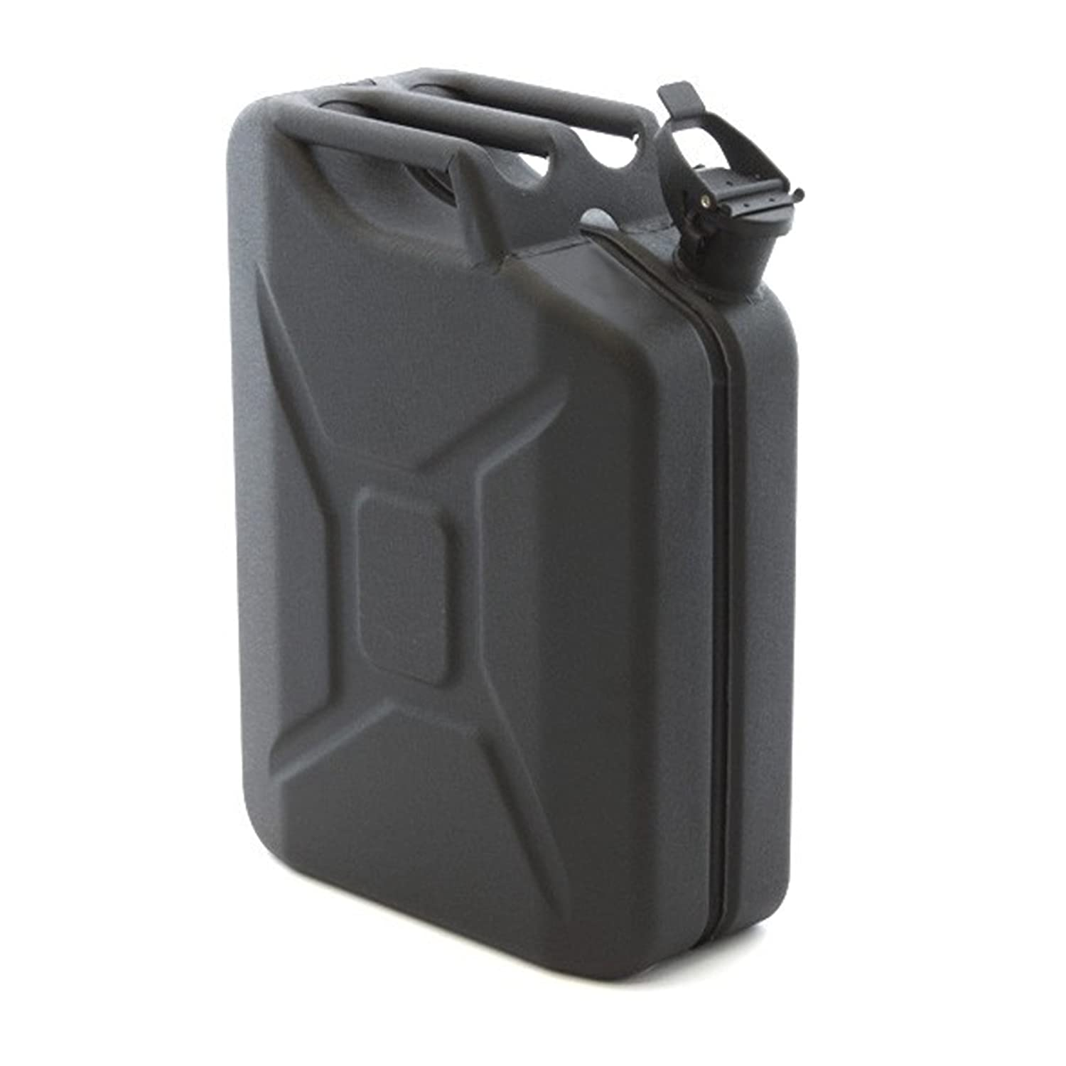 20 Litre Matt Black Hammered Finish Jerry Can for Fuel Petrol Diesel etc ASC
