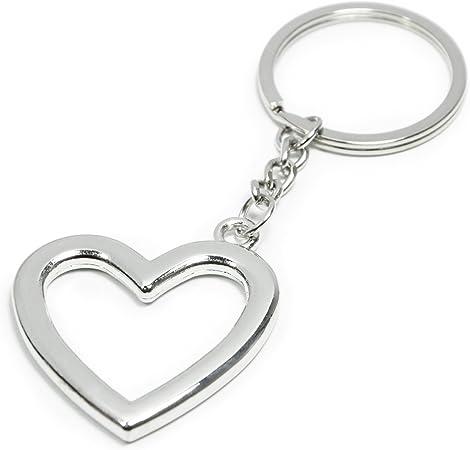 Nana Love Hearts Rectangle Keychain Key Ring
