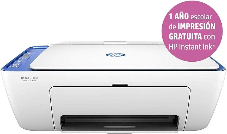 HP Deskjet 2630 – Impresora Multifunción Inalámbrica Color Blanco ...