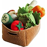 Ikea Duktig Play Food Set Soft Toy Kids Children 14 Pc Vegetables