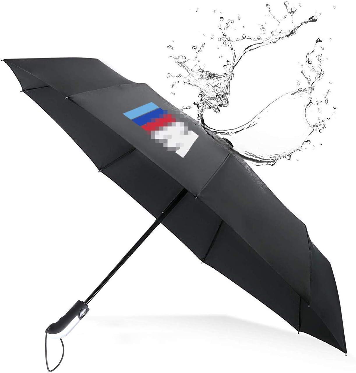 YIKA Paraguas Plegable para Deportes automáticos, Apertura automática, Resistente al Viento, para 3 m