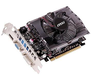 MSI N630GT-MD2GD3 - Tarjeta gráfica (GeForce GT 630, 2 GB DDR3, 128-bit)