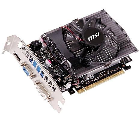 MSI N630GT-MD2GD3 - Tarjeta gráfica (GeForce GT 630, 2 GB DDR3 ...