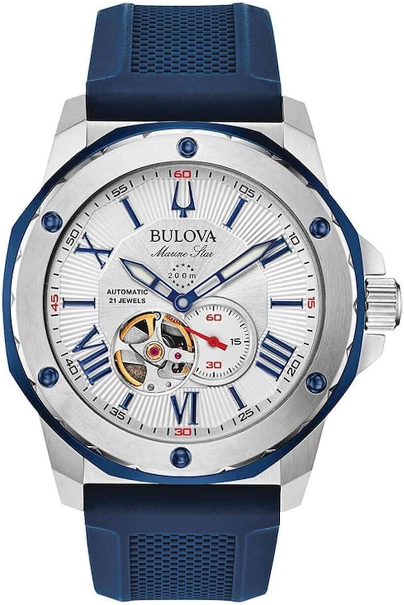 Bulova Marine Star 98A225 - Reloj automático para hombre