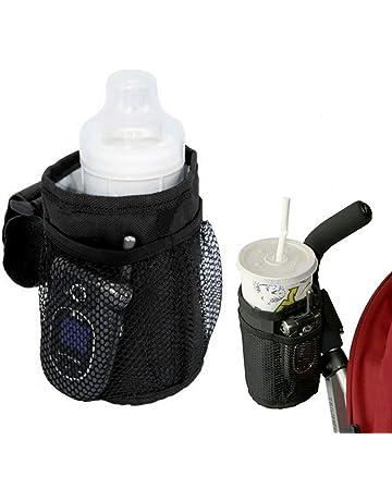 Portavasos para Cochecitos, Tela Térmica Aislante e Impermeable de Oxford, Portabotellas para Bebida Agua