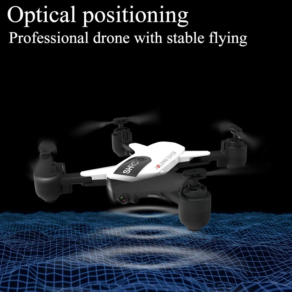MOZATE WiFi 720 FPV 18min Flight Time GPS Flow Me Foldable Selfie Drone RC Quadcopter (White) by MOZATE (Image #6)