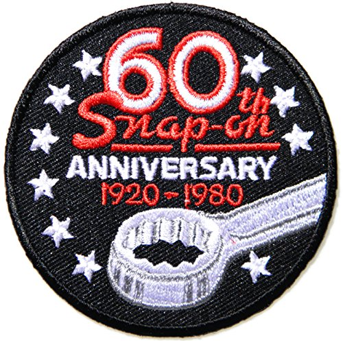 Snap on Tool Logo Sign Racing Patch Iron on Applique Embroidered T shirt Jacket BY SURAPAN