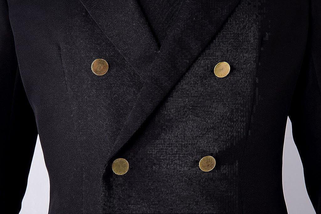 De-Cos Mr. Cosplay Costume Straw Hat Pirates Mr. De-Cos Prince Sanji Suit Outfit Set V1 821b24