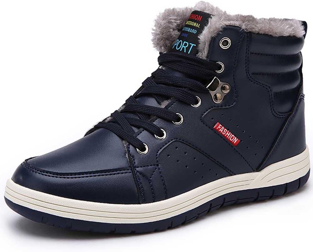Quickshark Mens Snow Boots Waterproof