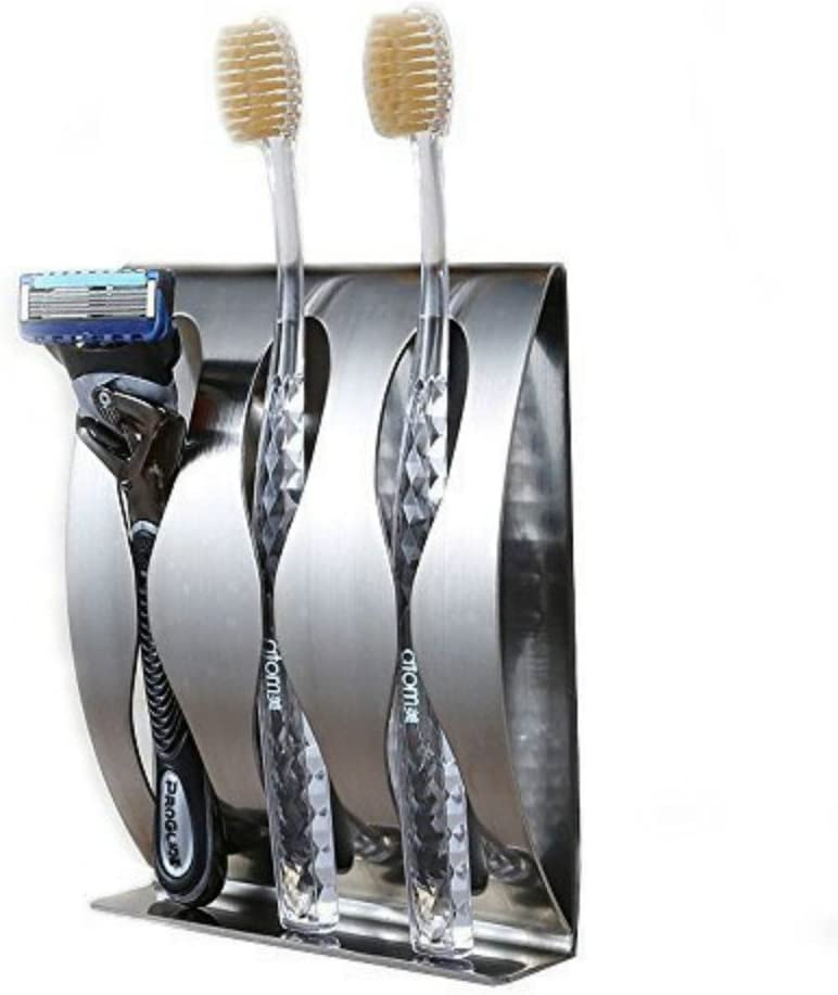 Zahnbürstenhalter aus Edelstahl für Wandmontage Selbstklebende ZahnbürsteR FA